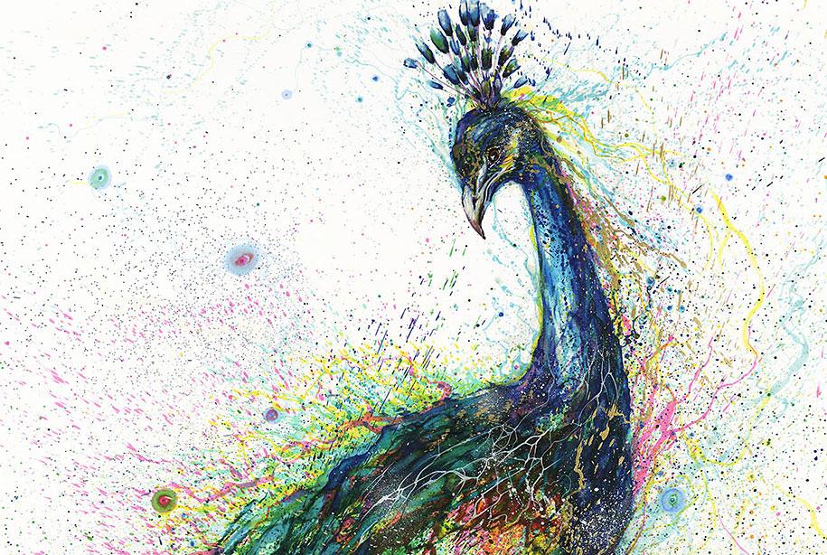 animal-paintings-ink-on-paper-hua-tunan-7