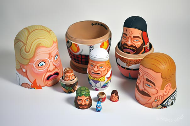 comedy-actor-tribute-robin-williams-nesting-dolls-andy-stattmiller-5