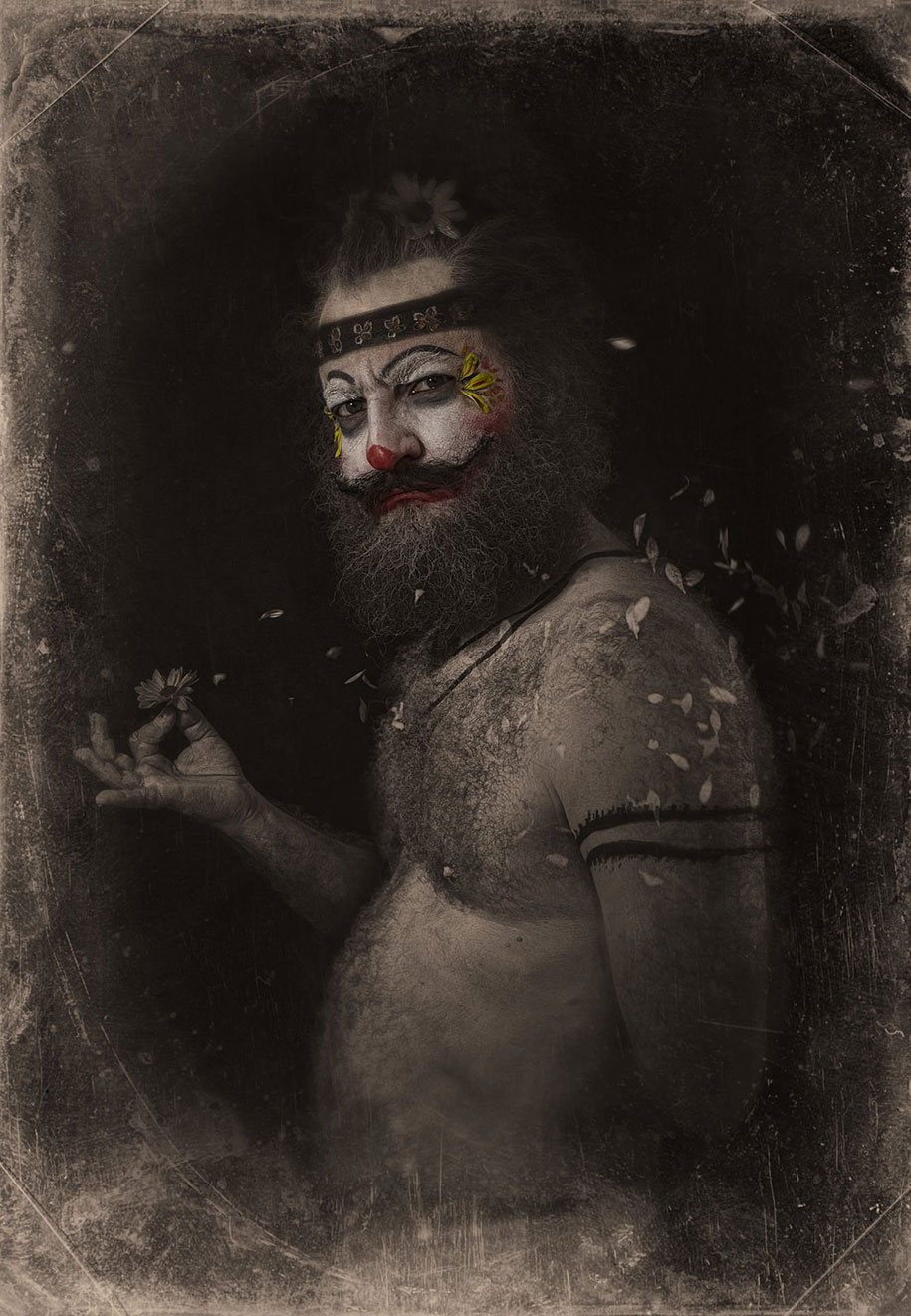 macabre-scary-clown-portraits-clownville-eolo-perfido-2