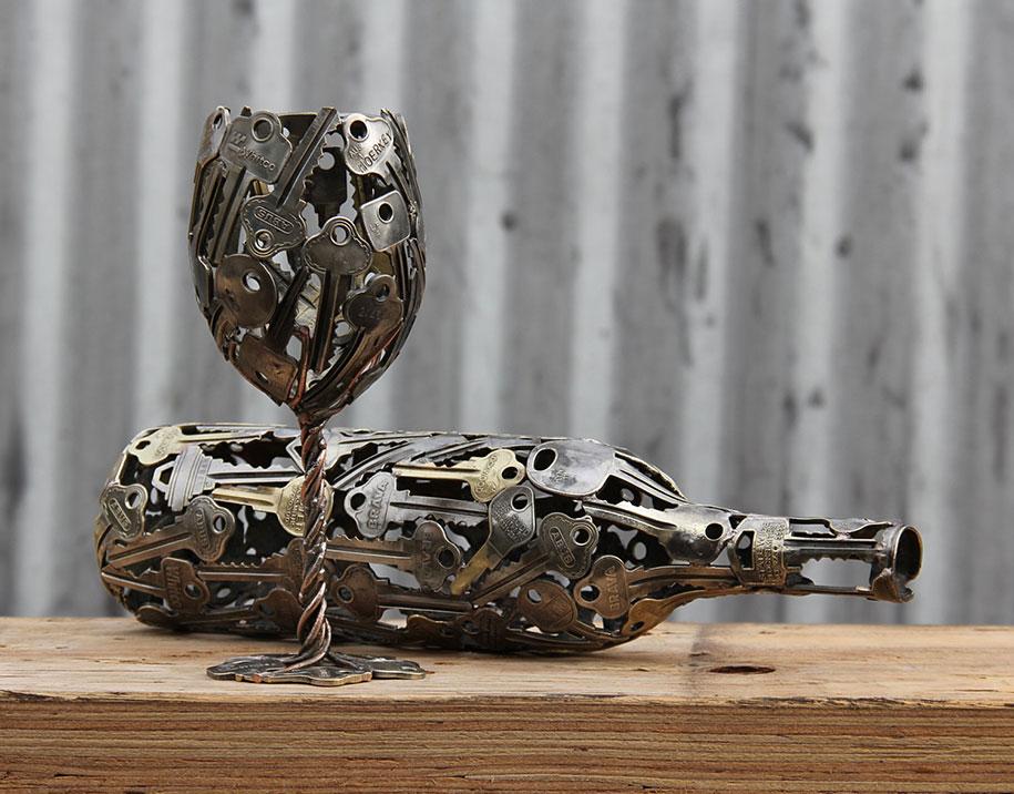 old-discarded-key-coin-sculptures-michael-moerkerk-moerkey-37