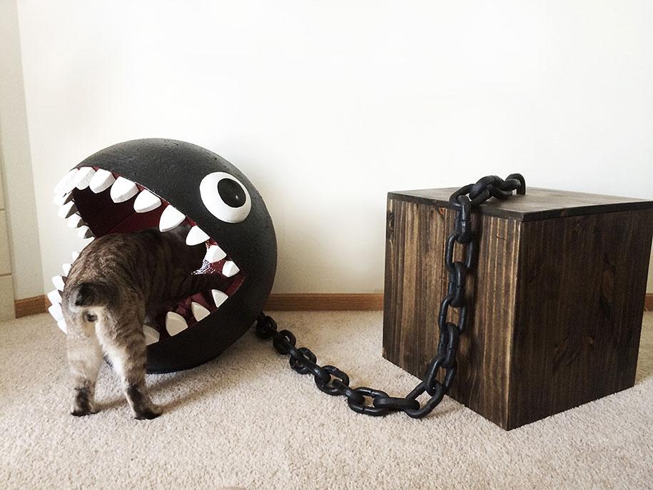 super-mario-bros-furniture-chain-chomp-cat-bed-catastrophicreations-5