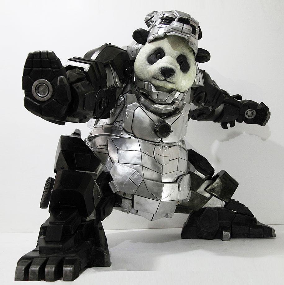 superhero-bear-statue-iron-panda-bi-heng-china-13
