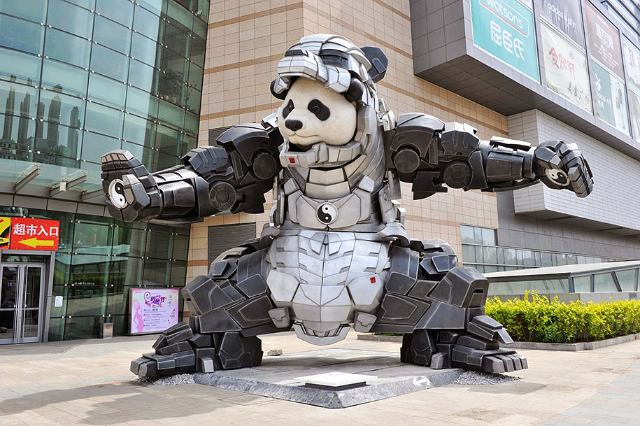 superhero-bear-statue-iron-panda-bi-heng-china-3