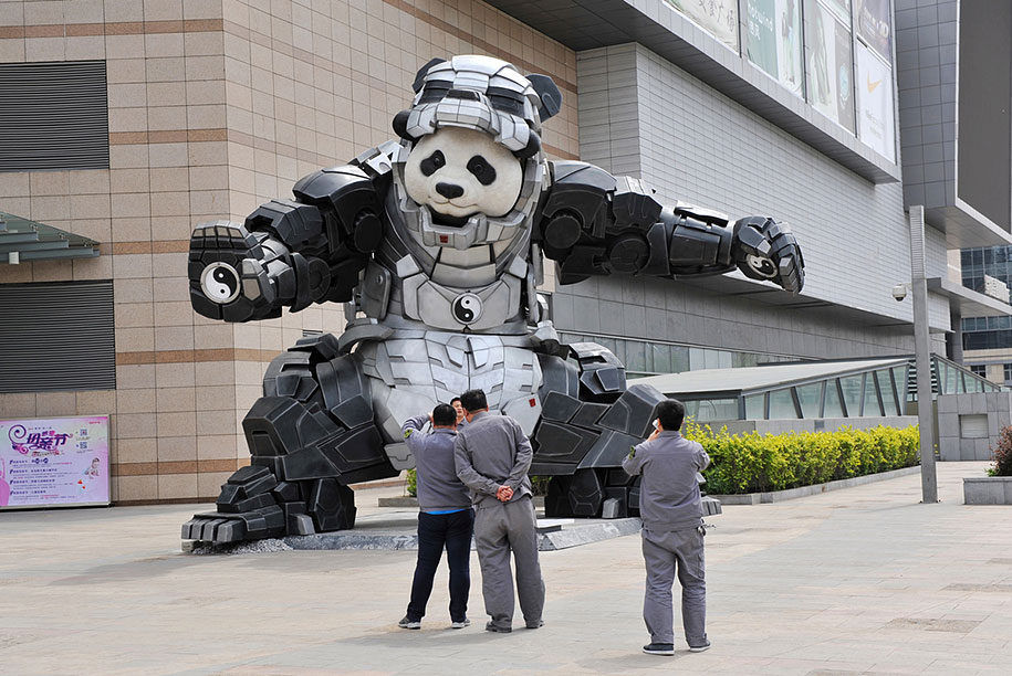 superhero-bear-statue-iron-panda-bi-heng-china-6