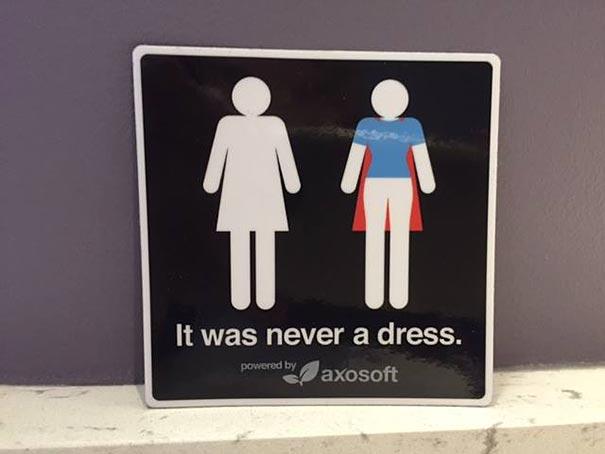 women-empowerment-bathroom-sign-it-was-never-a-dress-tania-katan-3