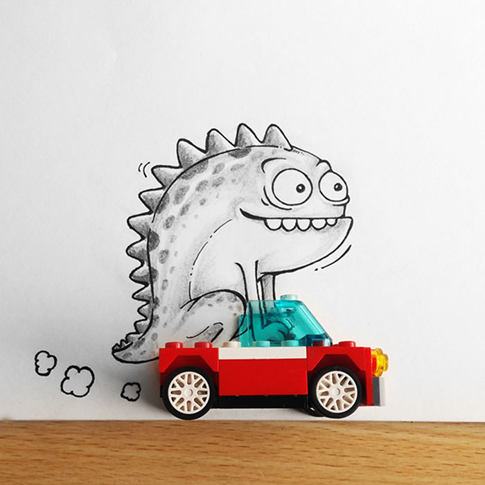 cute-dragon-doodles-interact-3d-objects-drogo-manik-ratan-0
