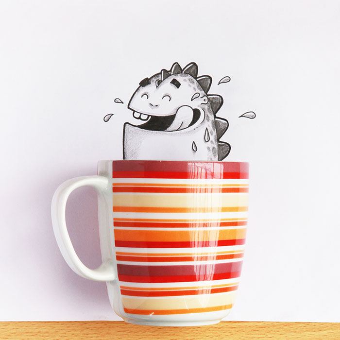 cute-dragon-doodles-interact-3d-objects-drogo-manik-ratan-11