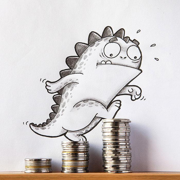 cute-dragon-doodles-interact-3d-objects-drogo-manik-ratan-15