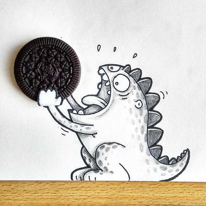 cute-dragon-doodles-interact-3d-objects-drogo-manik-ratan-18