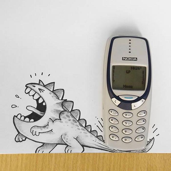 cute-dragon-doodles-interact-3d-objects-drogo-manik-ratan-3