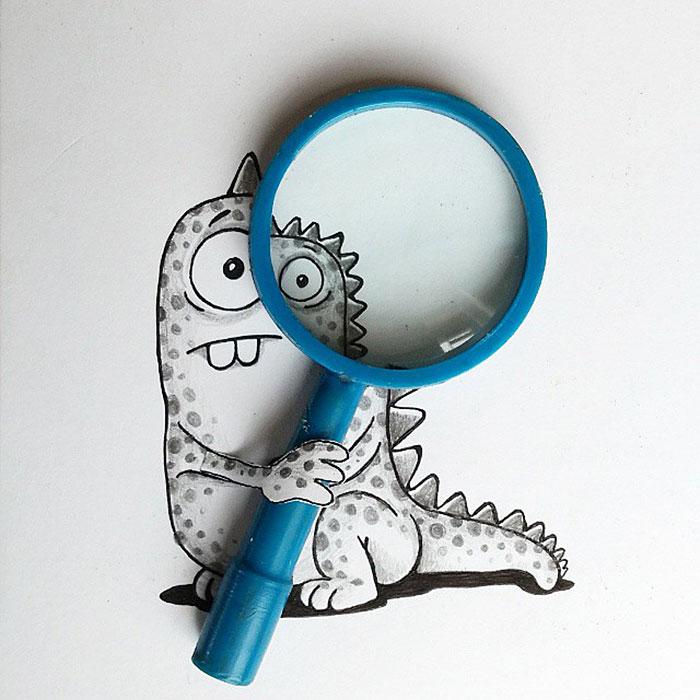 cute-dragon-doodles-interact-3d-objects-drogo-manik-ratan-7