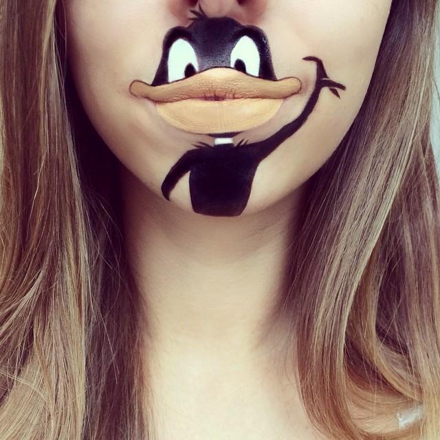 make-up-face-paint-cartoon-character-lips-laura-jenkinson-13
