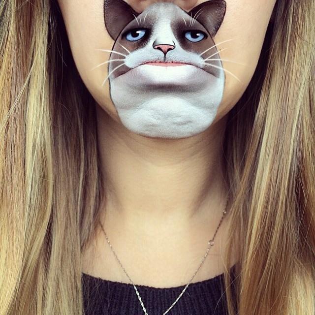make-up-face-paint-cartoon-character-lips-laura-jenkinson-18