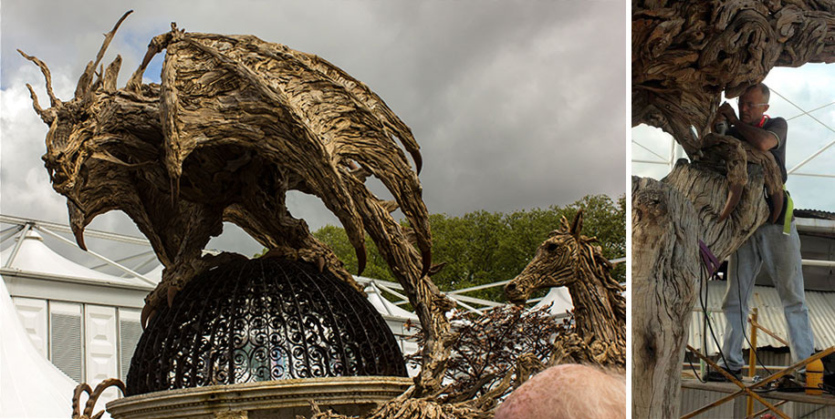 sculptures-driftwood-dragon-wyvern-james-doran-webb-11