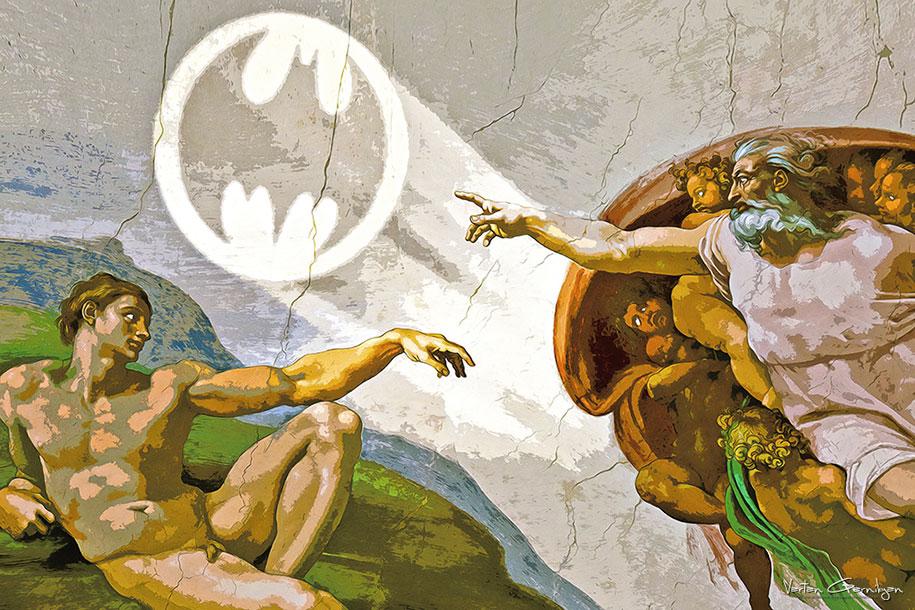 starry-knight-classical-paintings-batman-pop-art-vartan-garnikyan-3