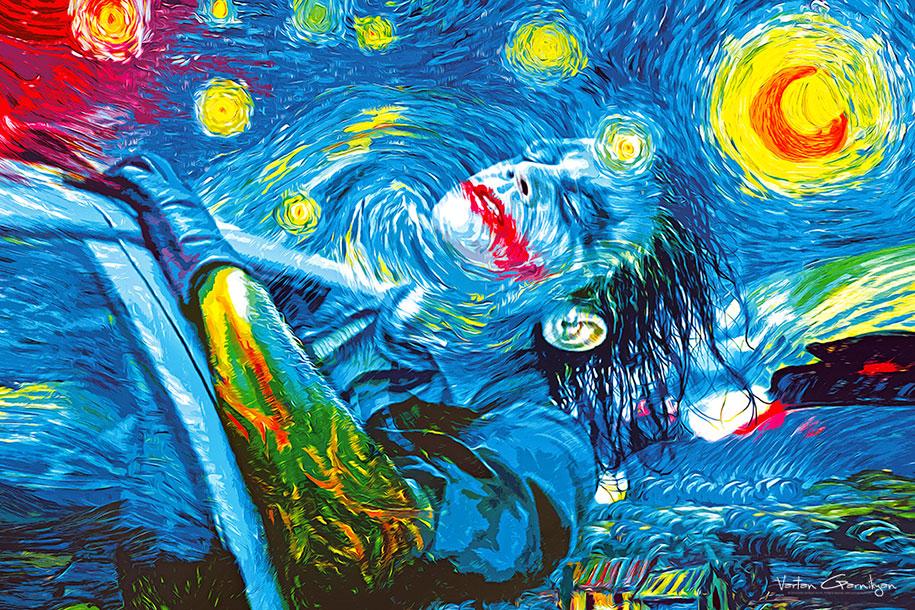 starry-knight-classical-paintings-batman-pop-art-vartan-garnikyan-5