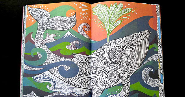 Anti-Stress Coloring Book Is Creative Therapy For Adults DeMilked