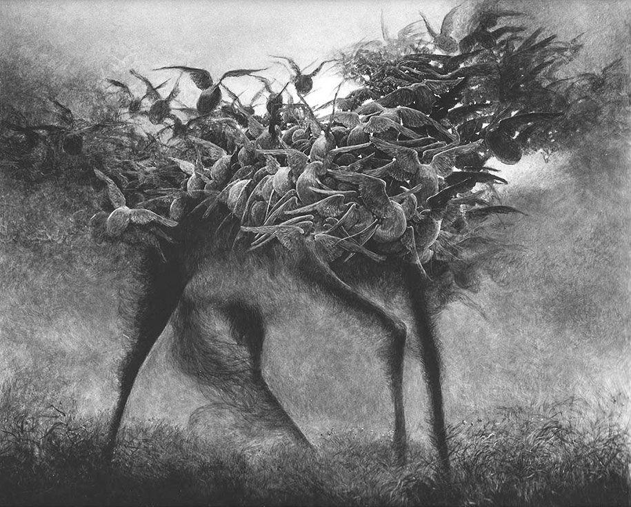 gothic-dystopian-postapocalyptic-surreal-paintings-zdzisław-beksinski-23