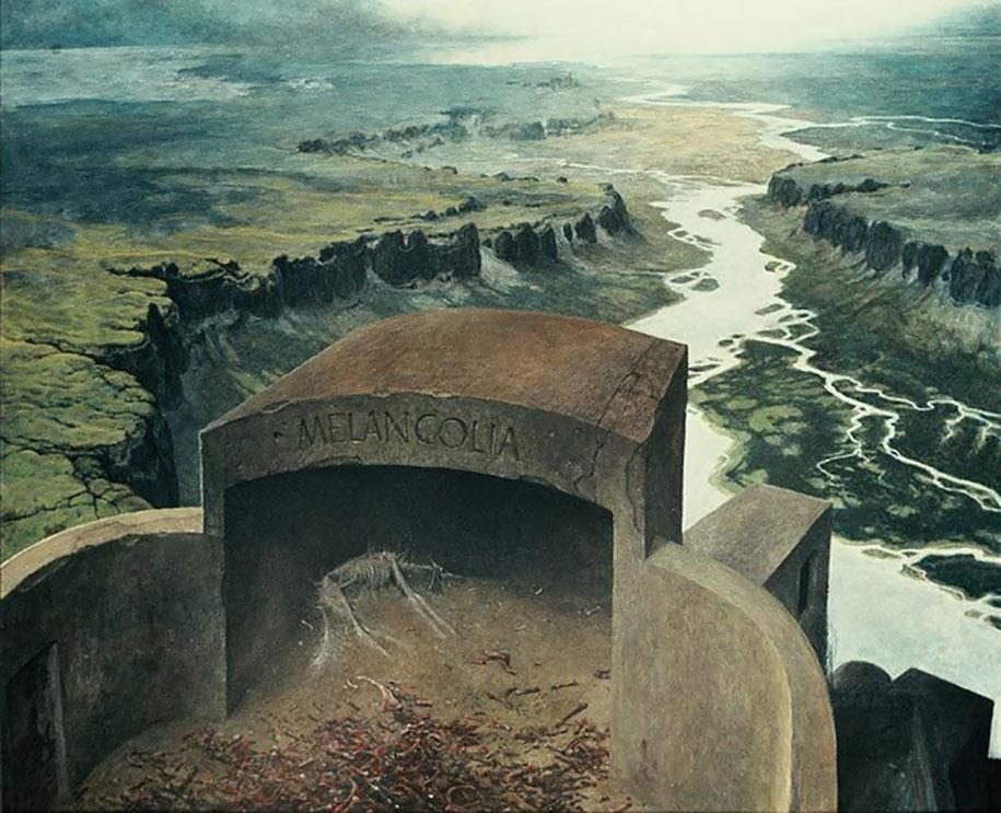 gothic-dystopian-postapocalyptic-surreal-paintings-zdzisław-beksinski-26
