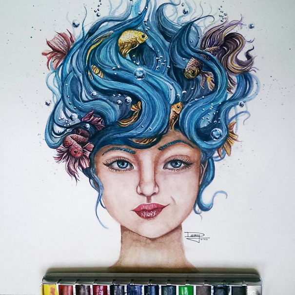 realistic-watercolor-paintings-pencil-coloring-dany-lizeth-1
