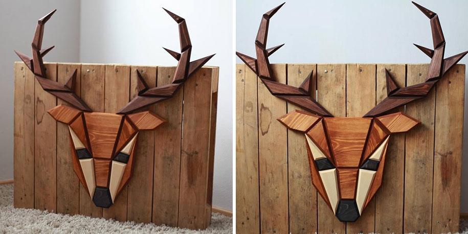 geometric-polygon-wooden-animal-heads-tomasz-ciurka-poland-10