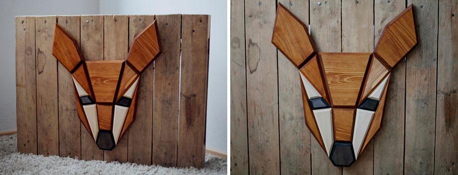 geometric-polygon-wooden-animal-heads-tomasz-ciurka-poland-11