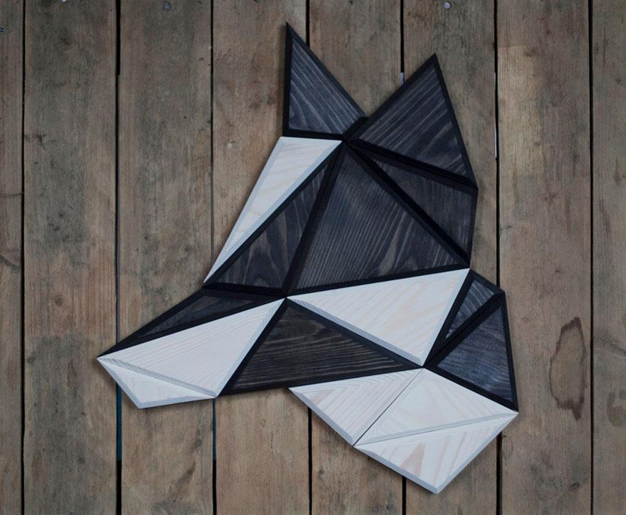 geometric-polygon-wooden-animal-heads-tomasz-ciurka-poland-3
