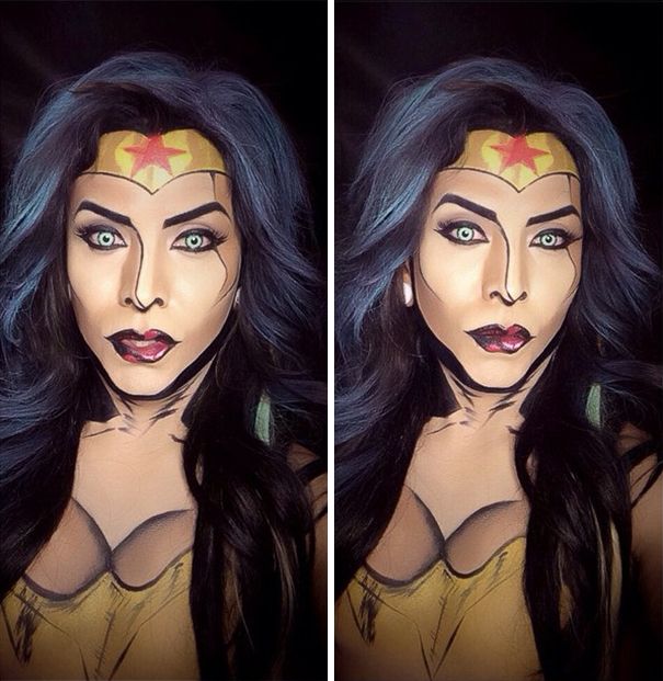 make-up-body-paint-comic-book-superhero-cosplay-argenis-pinal-8
