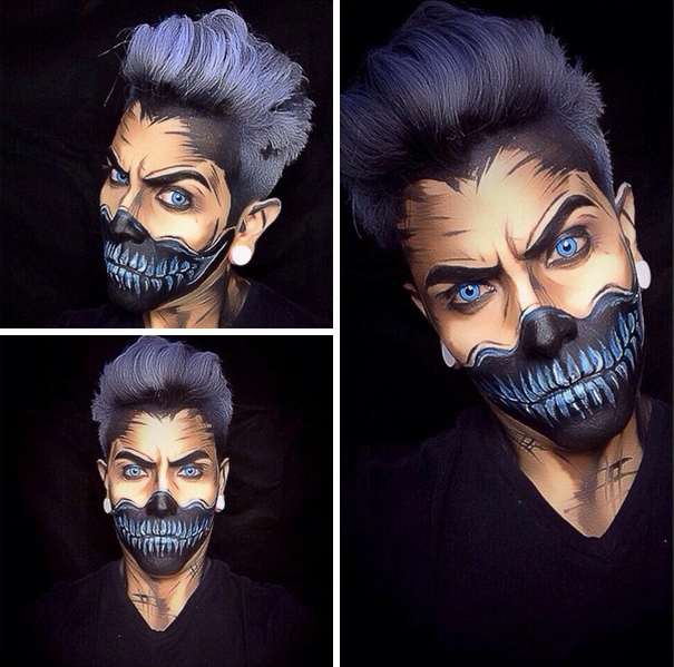 make-up-body-paint-comic-book-superhero-cosplay-argenis-pinal-9