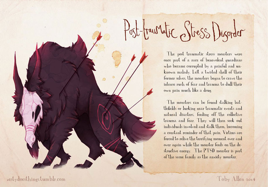 mental-illnesses-disorders-drawn-real-monsters-toby-allen-1