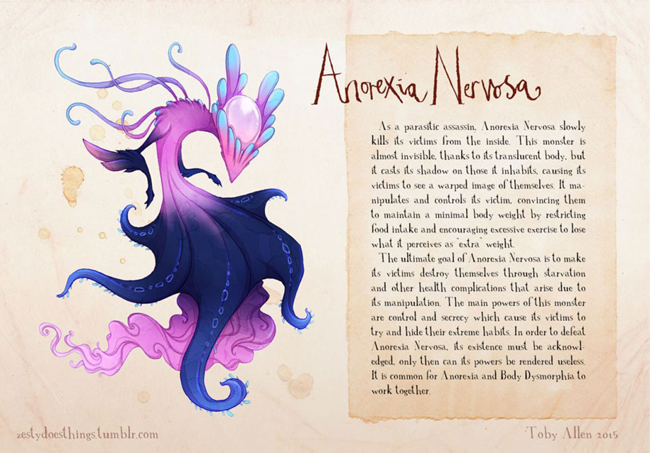 mental-illnesses-disorders-drawn-real-monsters-toby-allen-13