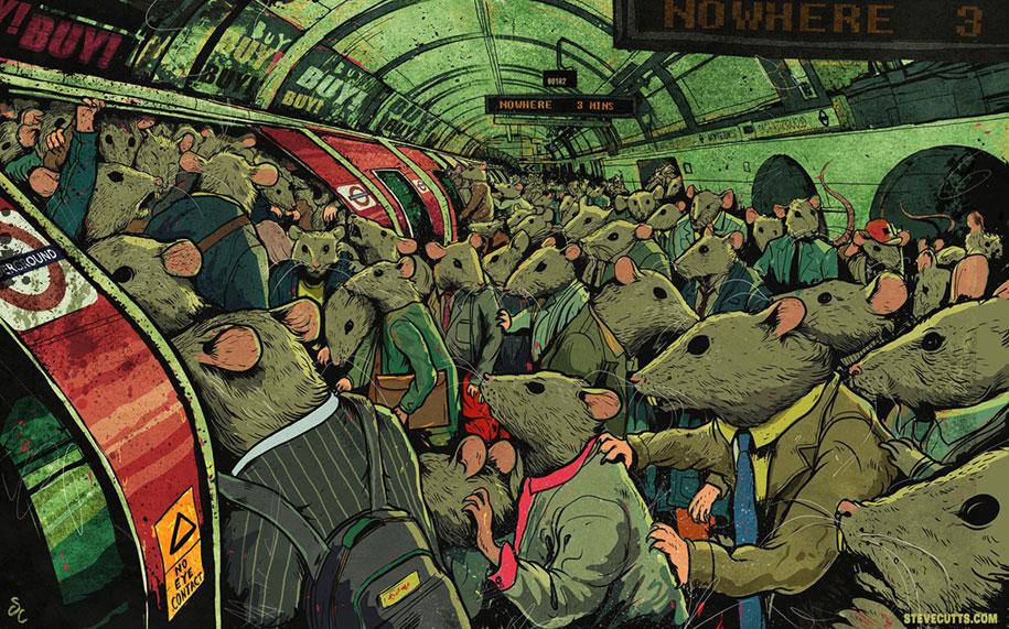 modern-life-horrors-problems-illustrations-steve-cutts-1