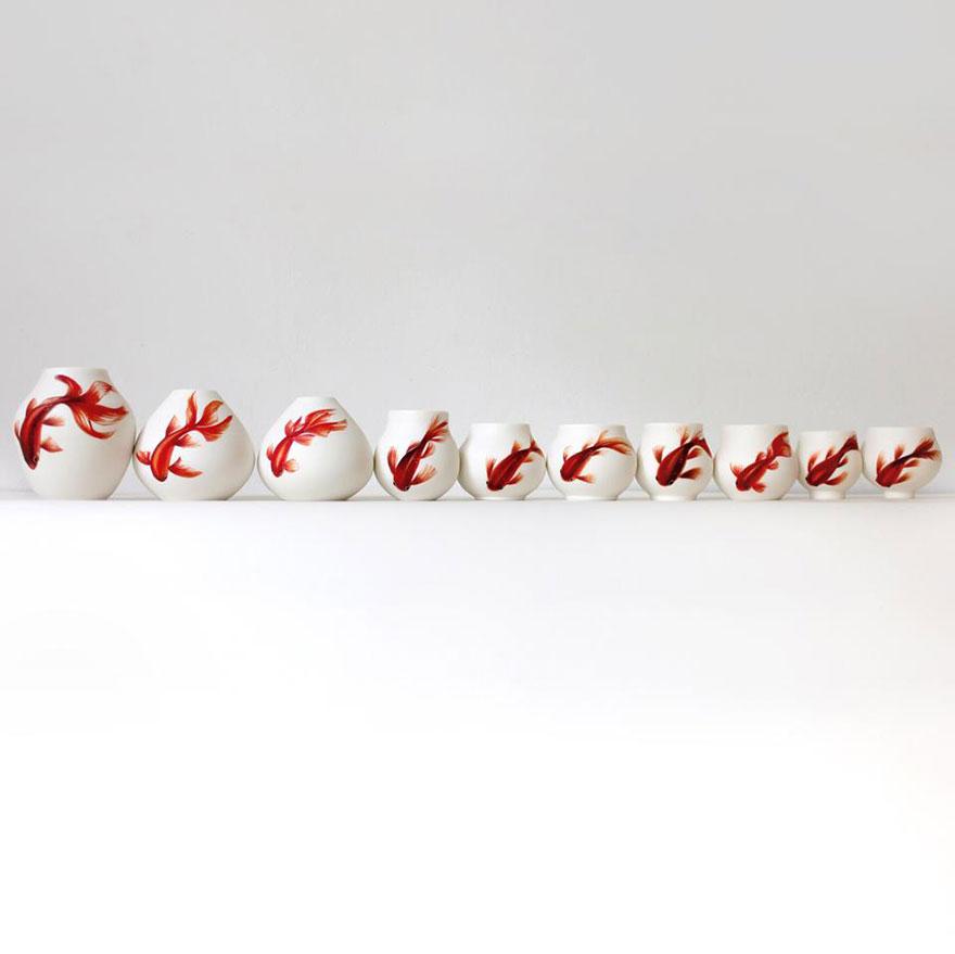 nature-inspired-fish-paintings-porcelain-niharika-hukku-3