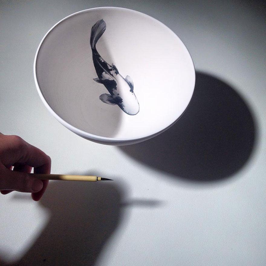 nature-inspired-fish-paintings-porcelain-niharika-hukku-8