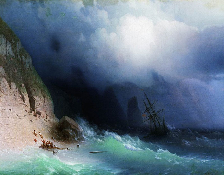 translucent-waves-19th-century-painting-ivan-konstantinovich-aivazovsky-14