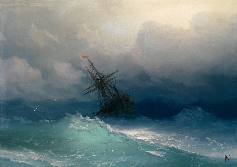 translucent-waves-19th-century-painting-ivan-konstantinovich-aivazovsky-20