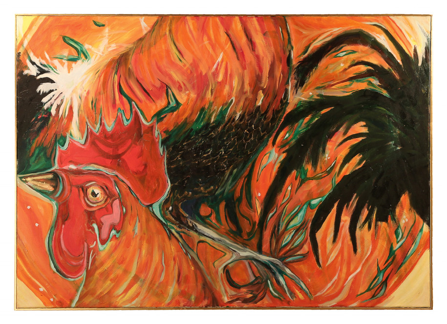 Bangkiva Rooster / Ayam Bangkiva