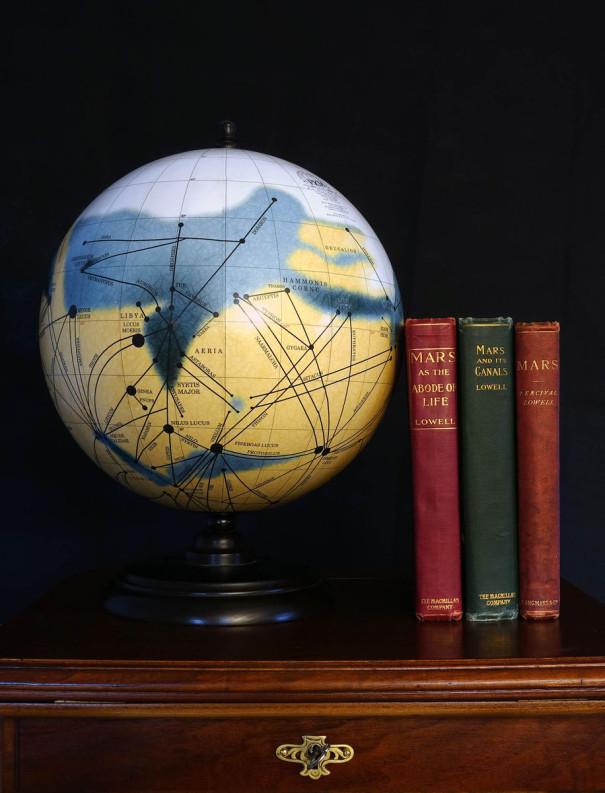 The 12-Inch Mars Globe and its origin