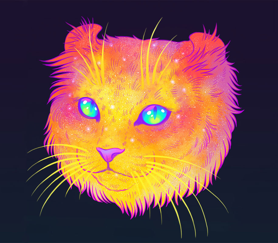 colorful-space-felines-galactic-cats-jen-bartel-3