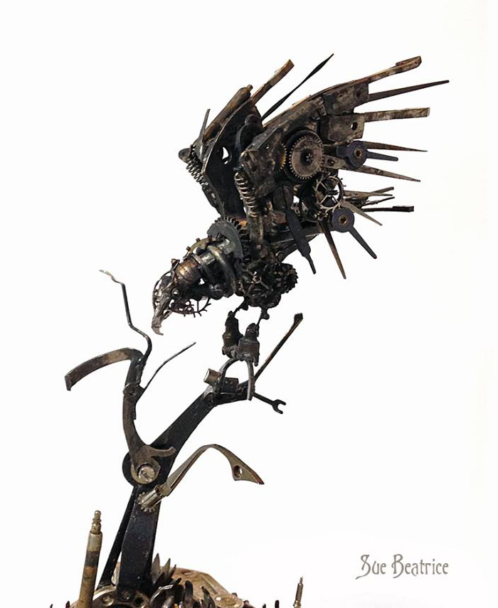 recycled-old-vintage-clock-parts-steampunk-sculpture-susan-beatrice-4