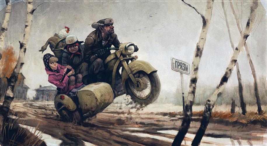 retro-60s-pinup-dark-art-waldemar-von-kazak-russia-18