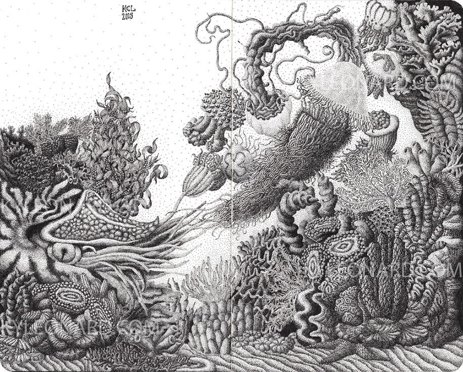 surreal-pointillism-stippling-dot-art-kyle-leonard-4
