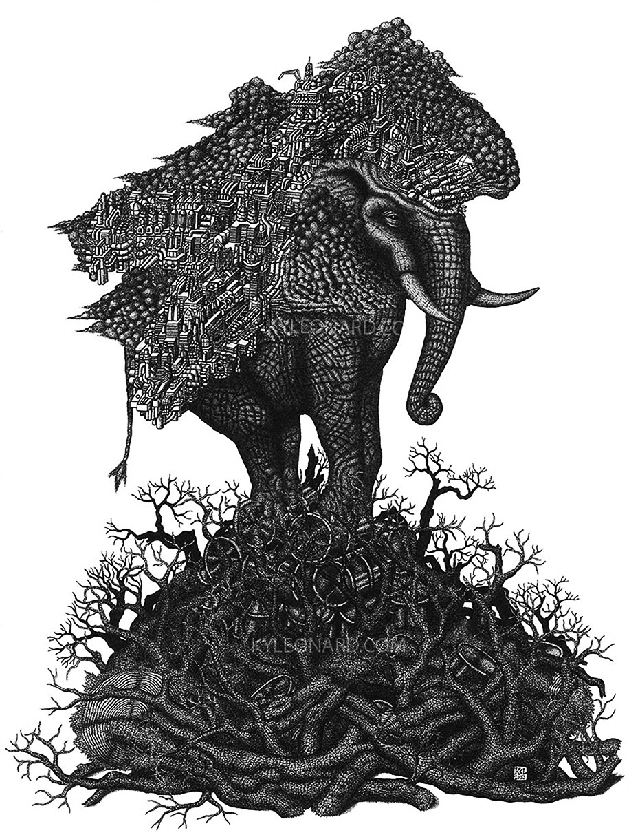 surreal-pointillism-stippling-dot-art-kyle-leonard-6