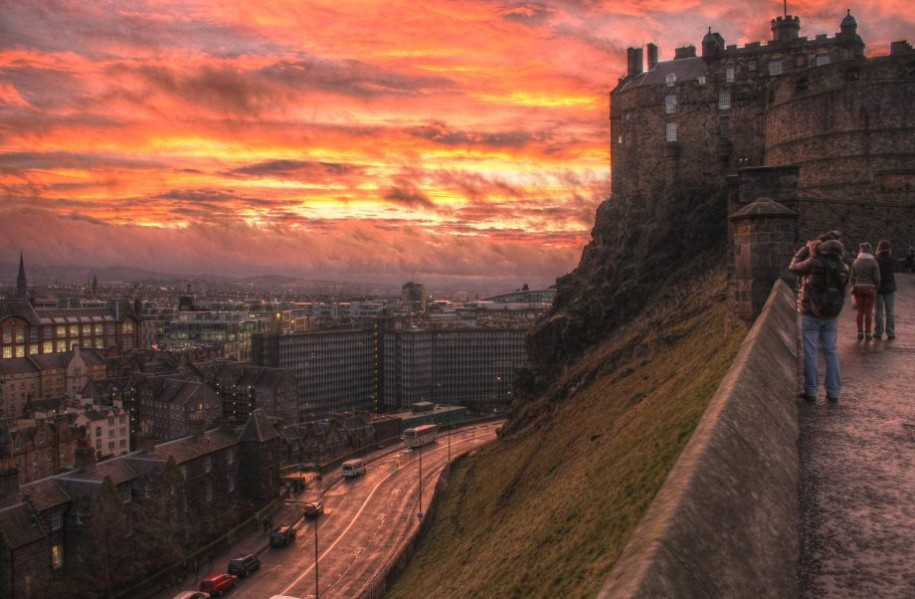 1- Edinburgh, Scottland