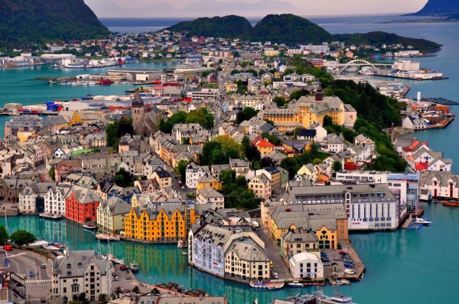 9- Alesund, Norway