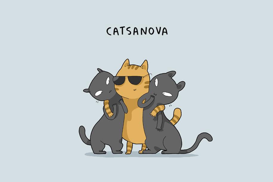animal-illustrations-12-types-cats-lingvistov-7