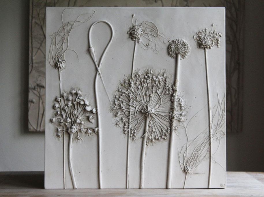 artificial-plaster-cast-flower-fossils-rachel-dein-11