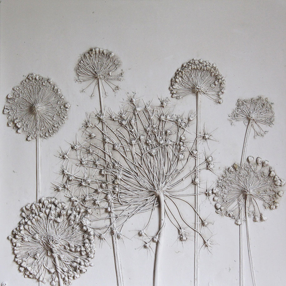 artificial-plaster-cast-flower-fossils-rachel-dein-15