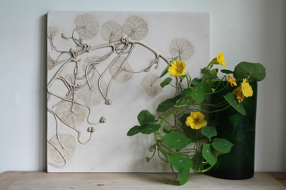artificial-plaster-cast-flower-fossils-rachel-dein-4