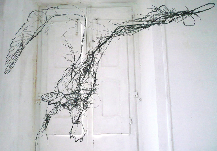 sketchbook-scribble-wire-animal-sculpture-statues-david-oliveira-portugal-5